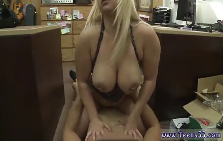 Big natural public and lela star rare hardcore scene first