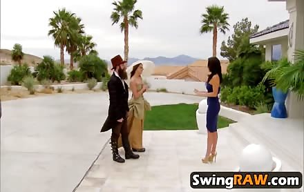 Swinger reality with new swing couple