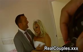 porn tube Michelle Thorne behind the scenes on her wedding day