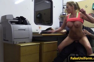 2 Hot Blonde Girlfriends Walk In To An Office (Taybre)